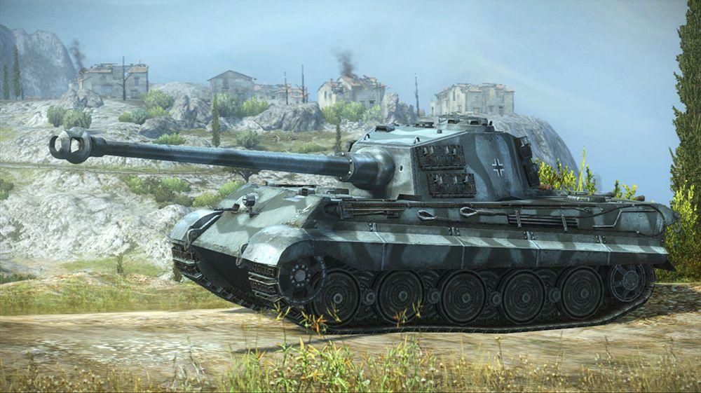 Tiger II er blant spillets mange ikoniske stridsvogner.