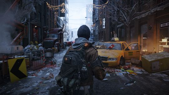 The Division lovar solid action i New York.