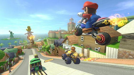 I slutten av mai kommer endelig Mario Kart 8.