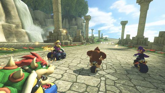 Mario Kart 8.