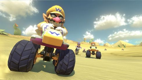 Wario er ein av mange Nintendo-figurar som gjer seg klar for å køyre deg av vegen.