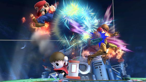 Hvem vinner? Hvem vet? (Skjermbilde: Nintendo).