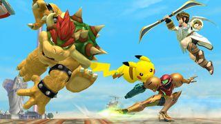 Å slåss i lufta er både en fordel og en ulempe (Skjermbilde: Nintendo).