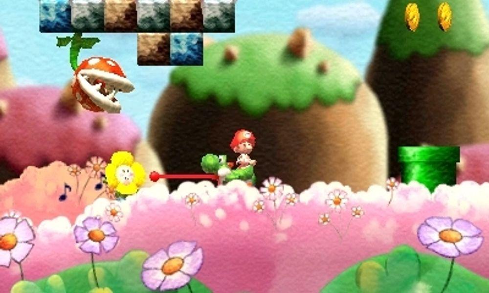 Yoshis nye øy er like fargerik som den gamle. (Bilde: Arzest/Nintendo).