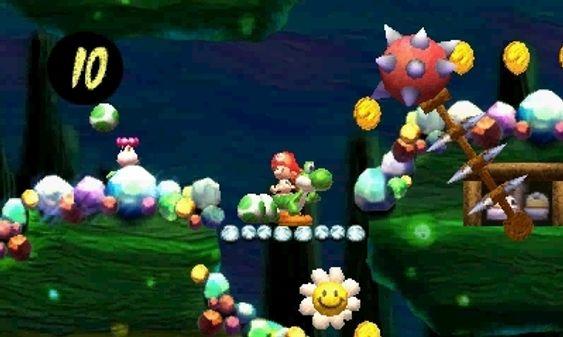 Mario har litt av en start på livet. (Bilde: Arzest/Nintendo).