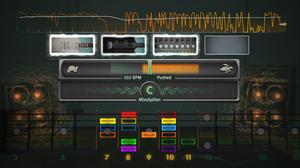 «Session Mode» lar deg improvisere over eit digitalt bakgrunnsband.