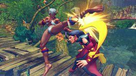Det blir mye bank å få i Ultra Street Fighter IV.