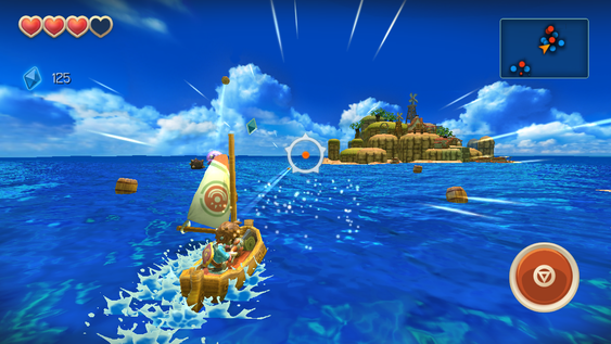 Oceanhorn: Monster of Uncharted Seas.