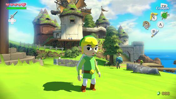 The Legend of Zelda: The Wind Waker har for en unik og fargerik kunststil.