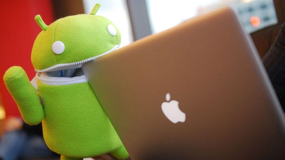 Android knuser konkurrentene