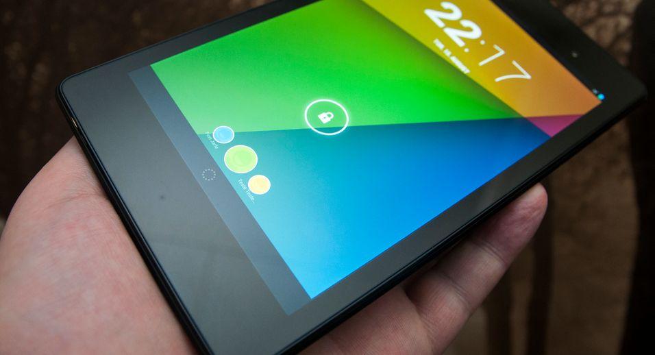 En svært lyssterk og høyoppløst skjerm er ett av de virkelige høydepunktene ved nye Nexus 7.