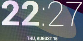 Makrobilde av skjermen i forrige utgave av Nexus 7.