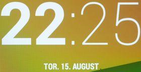 Makrobilde av skjermen i nye Nexus 7.