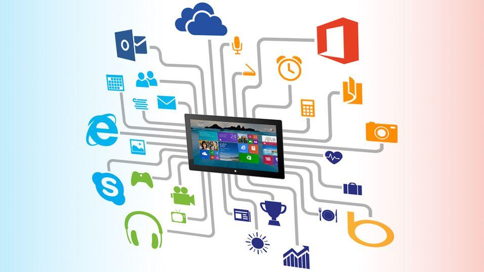 Skype følger med Windows 8.1
