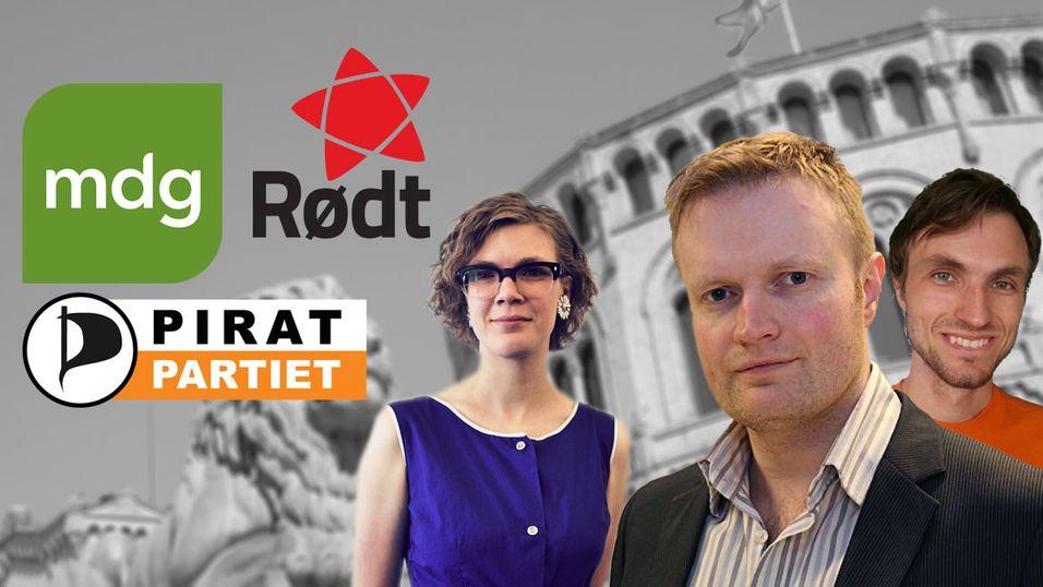 VALGET 2013: Småpartiene er samstemte: DLD skal fjernes i Norge