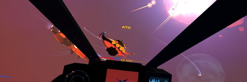 Wing Commander-inspirert action i Enemy Starfighter
