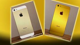 Slik kan en gull-iPhone komme til å se ut, ifølge iMore.
