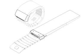 Konsepttegning fra Samsungs patentsøknad.