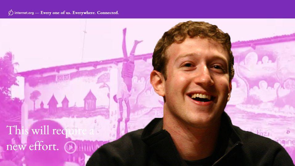 Facebook vil ha hele verden på nett