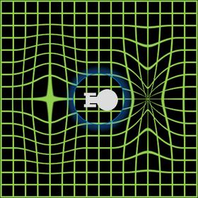 Illustrasjon av warpdrive.