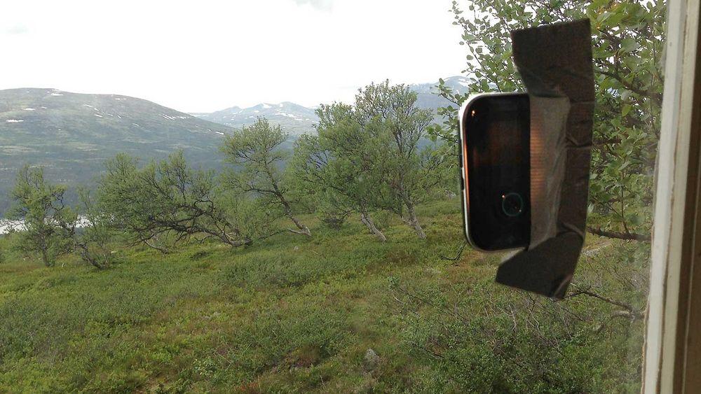 Gaffatape, 3G og film på hytta