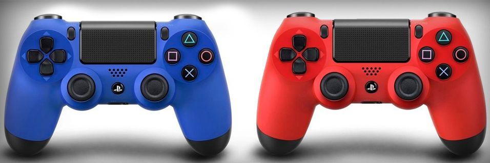 PlayStation 4 får fargerike kontrollere