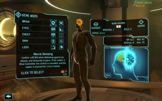 Selv hjernen må tåle en oppgradering i Enemy Within.