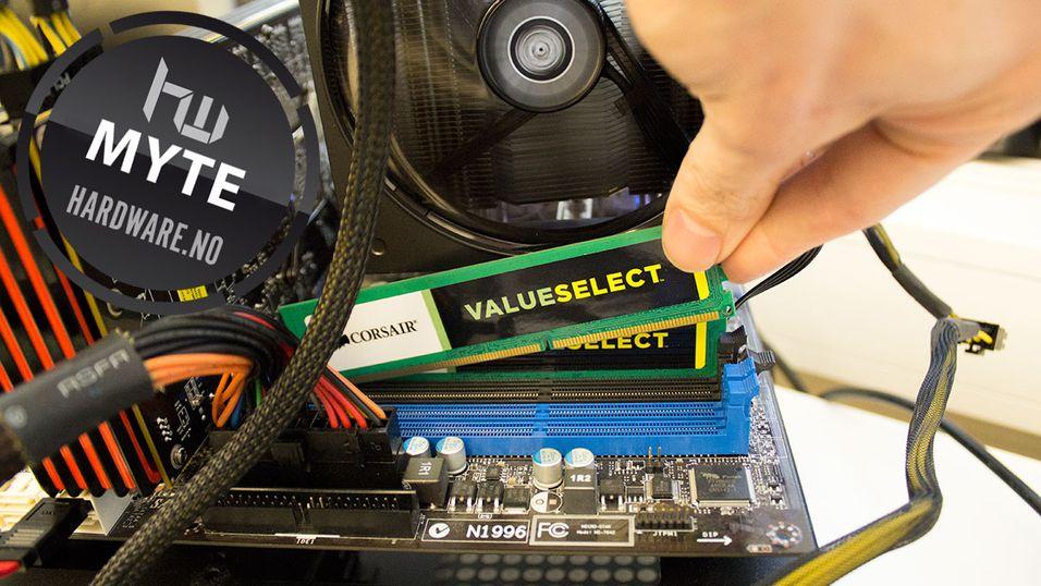 MYTE: Dette skjer når du røsker ut PC-delene – mens maskinen står på