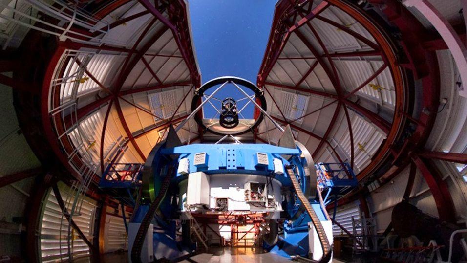 Teleskop tar de klareste bildene av nattehimmelen noensinne