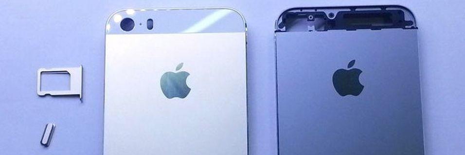 Angivelig et bilde av Apples nye og billigere Iphone. Vil den øke penetrasjonen av smartmobiler?