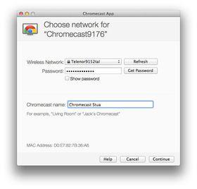 Har du passordet til det trådløse nettverket lagret på maskinen, trenger du bare å trykke deg frem.