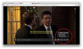 Netflix i nettleseren på PC eller Mac har også sitt eget Cast-symbol. .