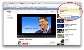 Skal du «Caste» YouTube eller Netflix bør du velge knappen direkte i spilleren, ikke i nettleseren.