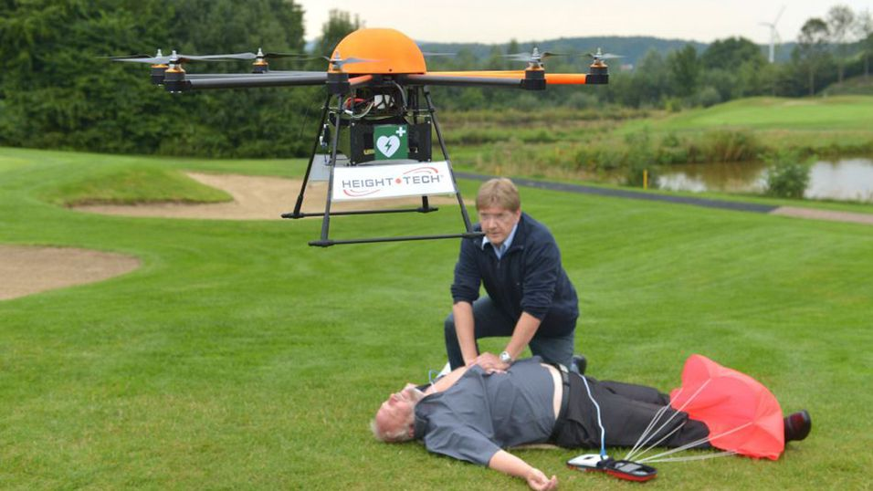 Denne dronen kan redde livet ditt