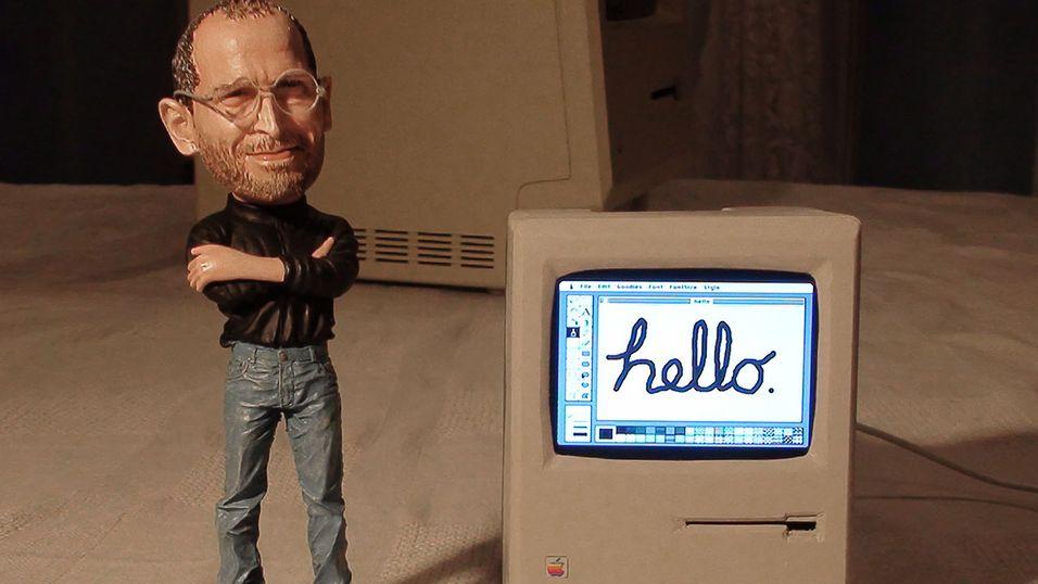 Macintosh gjenskapt med Raspberry Pi