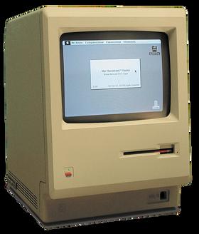 Den originale Macintosh fra 1984.