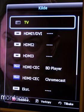 Med HDMI CEC trenger du ikke fjernkontrolleren.
