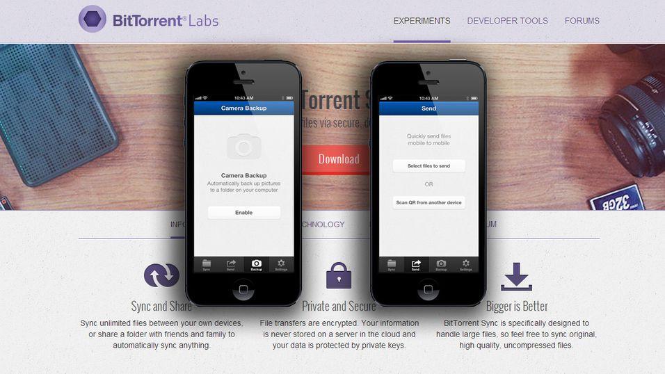 iOS får den nye BitTorrent-teknologien