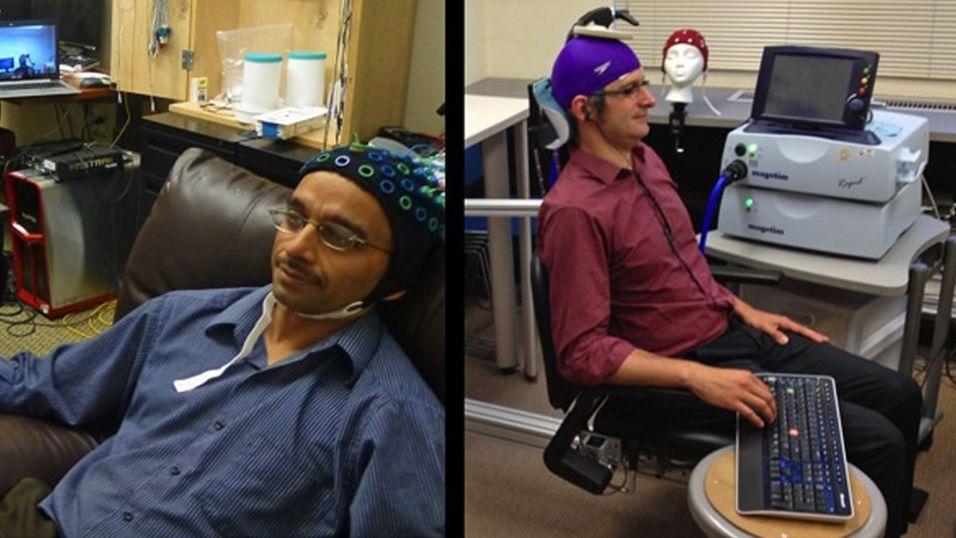 Disse to forskerne har koblet sammen hjernen