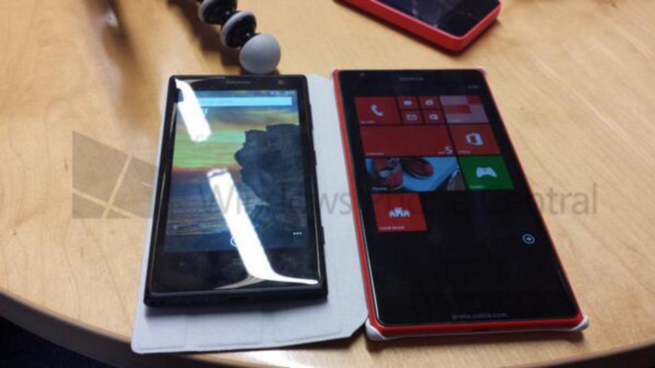 Dette kan være et bilde av Lumia 1520.