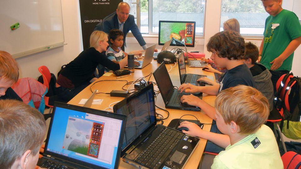 Kodeklubben Fana Bergen arrangerte SommerCodeCamp.