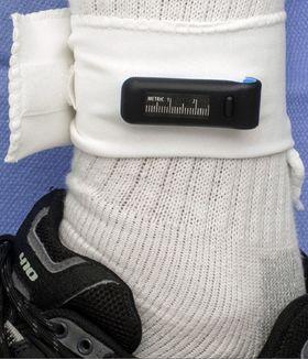 149 pasienter fikk festet en Fitbit på ankelen.
