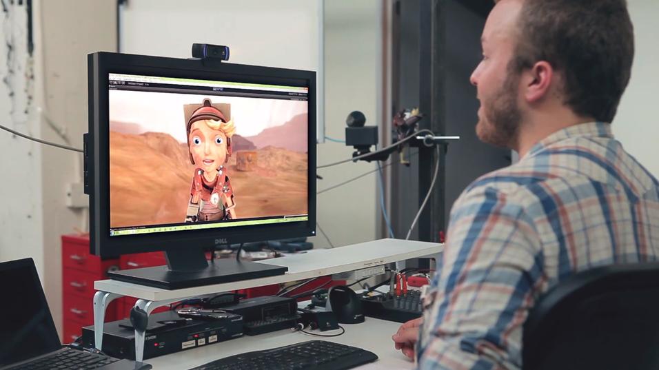 Se hvor lett det har blitt å lage gode ansiktsanimasjoner i spill