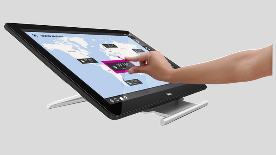 Her er Dells nye berøringsskjermer