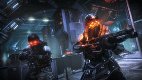 Killzone: Mercenary til PlayStation Vita.