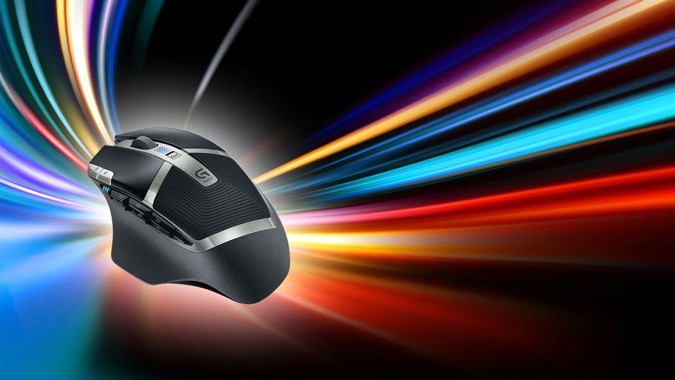 Spill i hundrevis av timer med denne trådløse musen