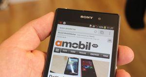 Sony Xperia Z1 – Fy flate, for en mobiltelefon!