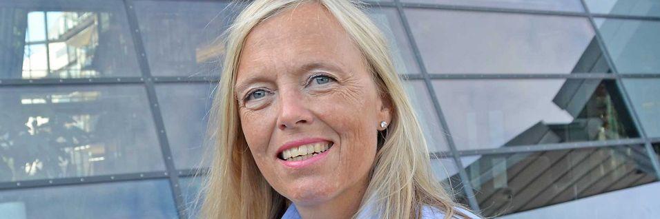 Leder for bedriftsmarkedet i Telenor Norge, Marina Lønning har undersøkelser som viser at kundene vil kjøpe mer kapasitet de neste 12-18 månedene.