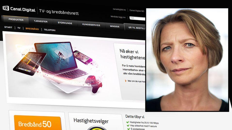 Forbrukerombud  Gry Nergård krever nå svar fra Canal Digital etter at kabelselskapet endret prisene og tilbudet.