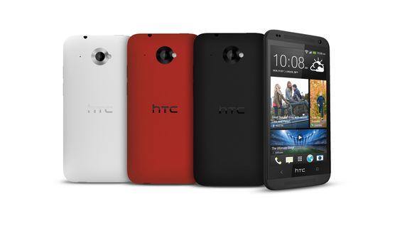 På forsiden deler Desire 601 design med HTC One. Baksiden likner mer på den vi kjenner fra One X.